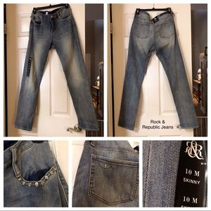 New Rock and Republic Skinny Jeans